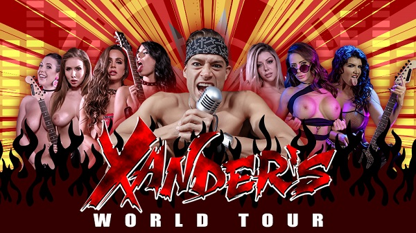 Xander's World Tour by Brazzers